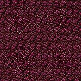 Teppichboden Auslegware | Schlinge gemustert | 400 und 500 cm Breite | lila rot | Meterware, verschiedene Größen | Größe: 9,5 x 4 m