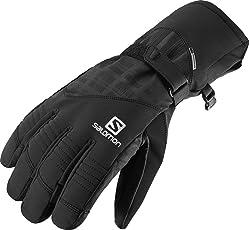 Salomon, Herren wasserdichte Ski-Handschuhe, Touchscreen kompatibel, Leder-Innenhand, PROPELLER DRY M