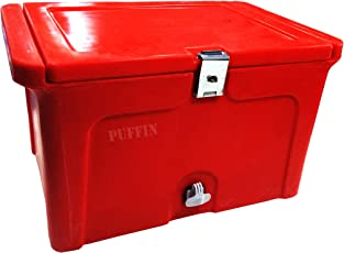 Nilkamal Insulated Icebox with Gel Technology(50L, Red)