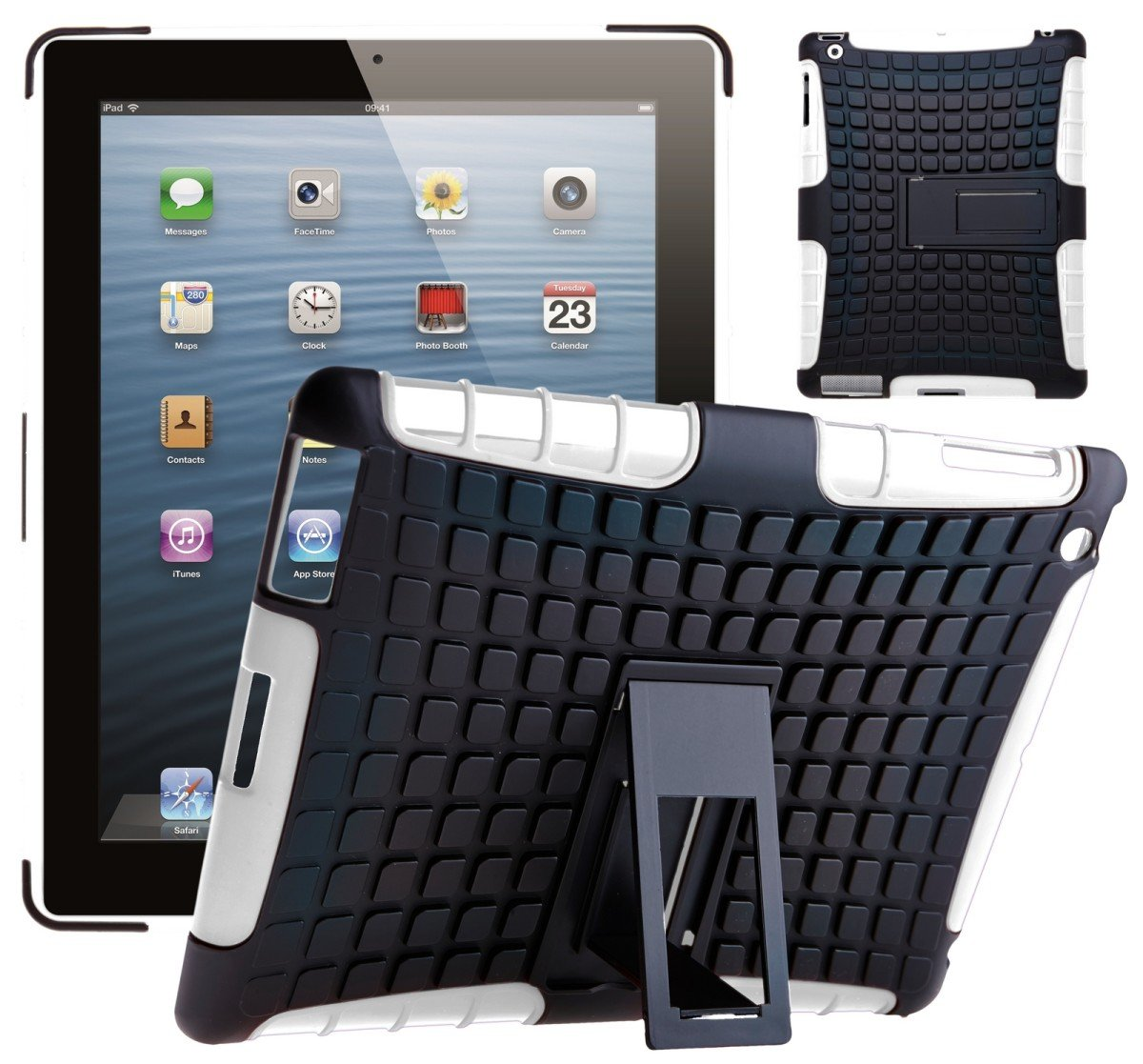 G-Shield-Coque-Antichoc-Etui-Protection-Housse-Hybride-Pour-Apple-iPad-2-3-4