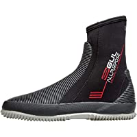 Gul 5mm All Purpose Neoprene Wetsuit Boots Shoes - Black - Unisex - BLINDSTITCHED: Seam construction