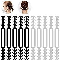 Lot de 6 supports de masque protection pour rouge à lèvres, avec 6 crochets pour boucle d'extension masque.Support…