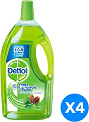 Dettol Pine Healthy Home All- Purpose Cleaner 4 x 900ml