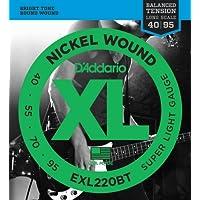 D'Addario EXL220BT Set Corde Basso EXL