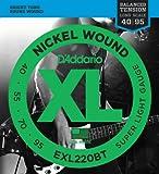 D'Addario EXL220BT E-Bass Saiten Satz Bass 040-095 Balanced Tension