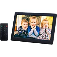 Digital Picture Frame 8 Inch Electronic Photo Frame & 1280 x 720 High Resolution IPS Widescreen Display - Calendar/Clock…