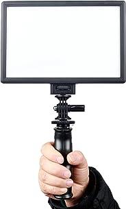 VILTROX L116T RA CRI95 Super Slim LED Light Panel,3300K-5600K LED Video Light Panel, LCD Display Screen,Color Temperature an