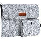 "dodocool 13,3 Zoll Filz Sleeve Hülle Ultrabook Laptop Tasche für 13"" MacBook Pro/Retina/MacBook Air, iPad Pro 12.9 Tasche"