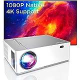 BOMAKER Beamer 7200 L Full HD Native 1080p LED videoprojektor 300 tums skärm Zoom ± 50°Elektronisk korrigering Dolby stöder m