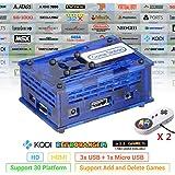 TAPDRA arkad TV-spel station med 17082 spel, 128 GB snabbt kort retro orange pi PC spelkit, plug and play, HDMI USB-port