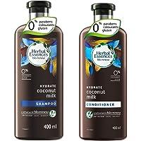 Herbal Essences Coconut Milk SHAMPOO- For Hydration- No Paraben, No Colorants, Nogluten , 400ml And Herbal Essences…
