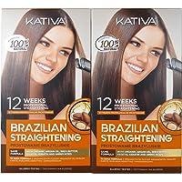 Kativa Keratina y Argán - Kit stirante brasiliano PACK 2x150 ml