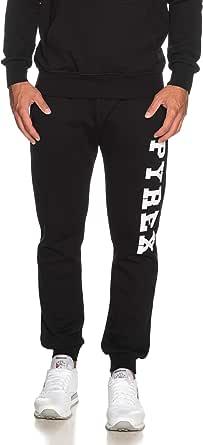 Pyrex Pantalone Tuta da Uomo Nero