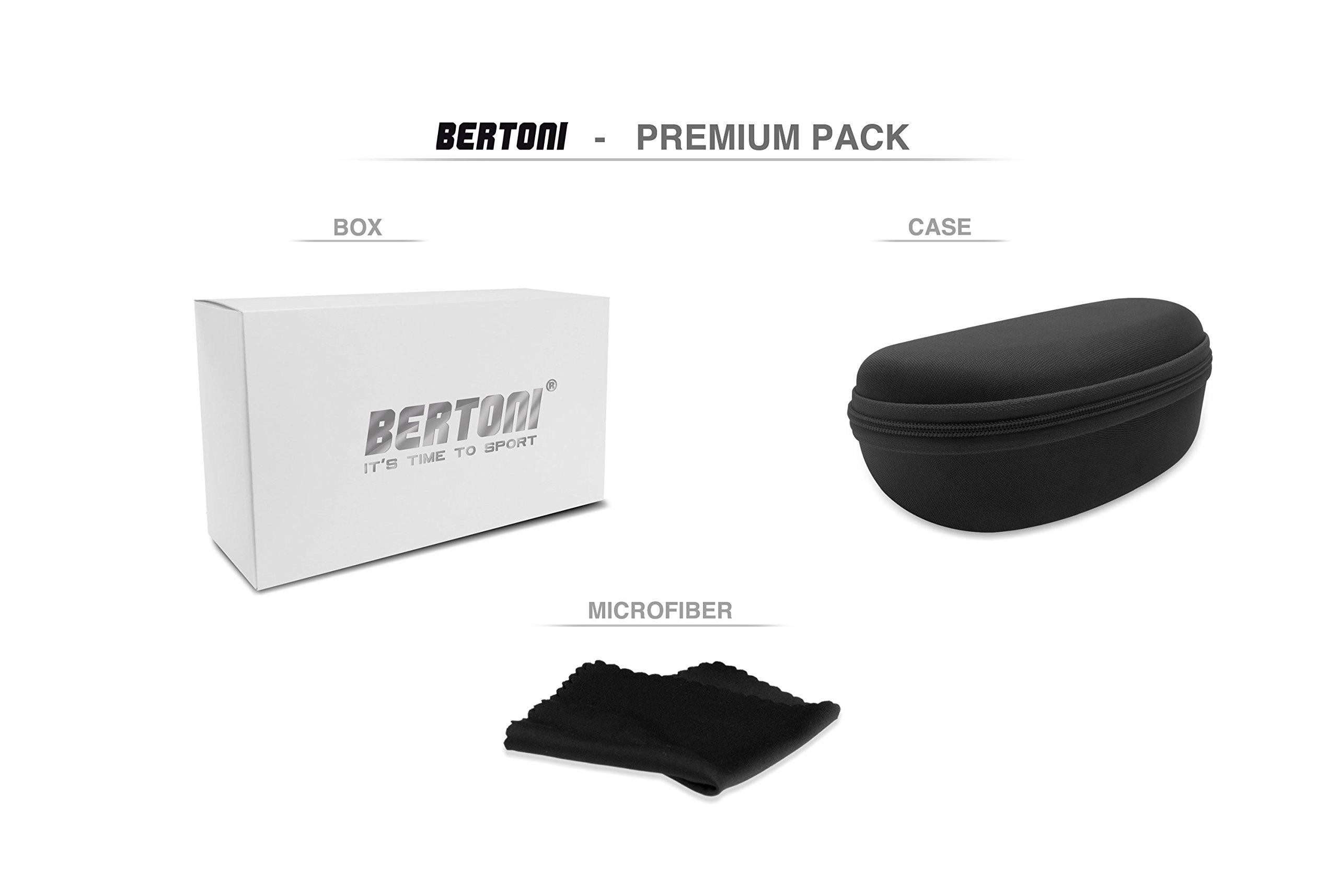 Lunettes de moto photochromiques Bertoni F125A 7