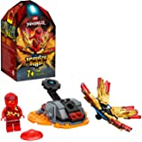 Ninjago Action Toy Spinjitzu Explosivo: KaiSet Spinner Ninja, color rojo (Lego ES 70686)