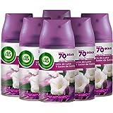 Air Wick Freshmatic navulverpakking voor luchtverfrissers, automatisch, geur maanlelie en zijde satijn, 6 stuks