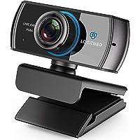 LOGITUBO HD Webcam 1080P Telecamera Live Streaming con Doppio Microfono Web Cam Funziona con Xbox One/PC/MacBook…