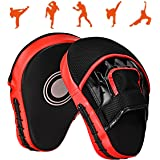 Queta 1 par PU Boxer Claw Foot Kick Pads för Muay Thai Karate Taekwondo Martial Arts MMA