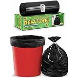 Newtone Premium OXO - Biodegradable Garbage Bags (Large) Size 60 cm x 81 cm 6 Rolls (90 Bags) (Dustbin Bag/Trash Bag) (Black