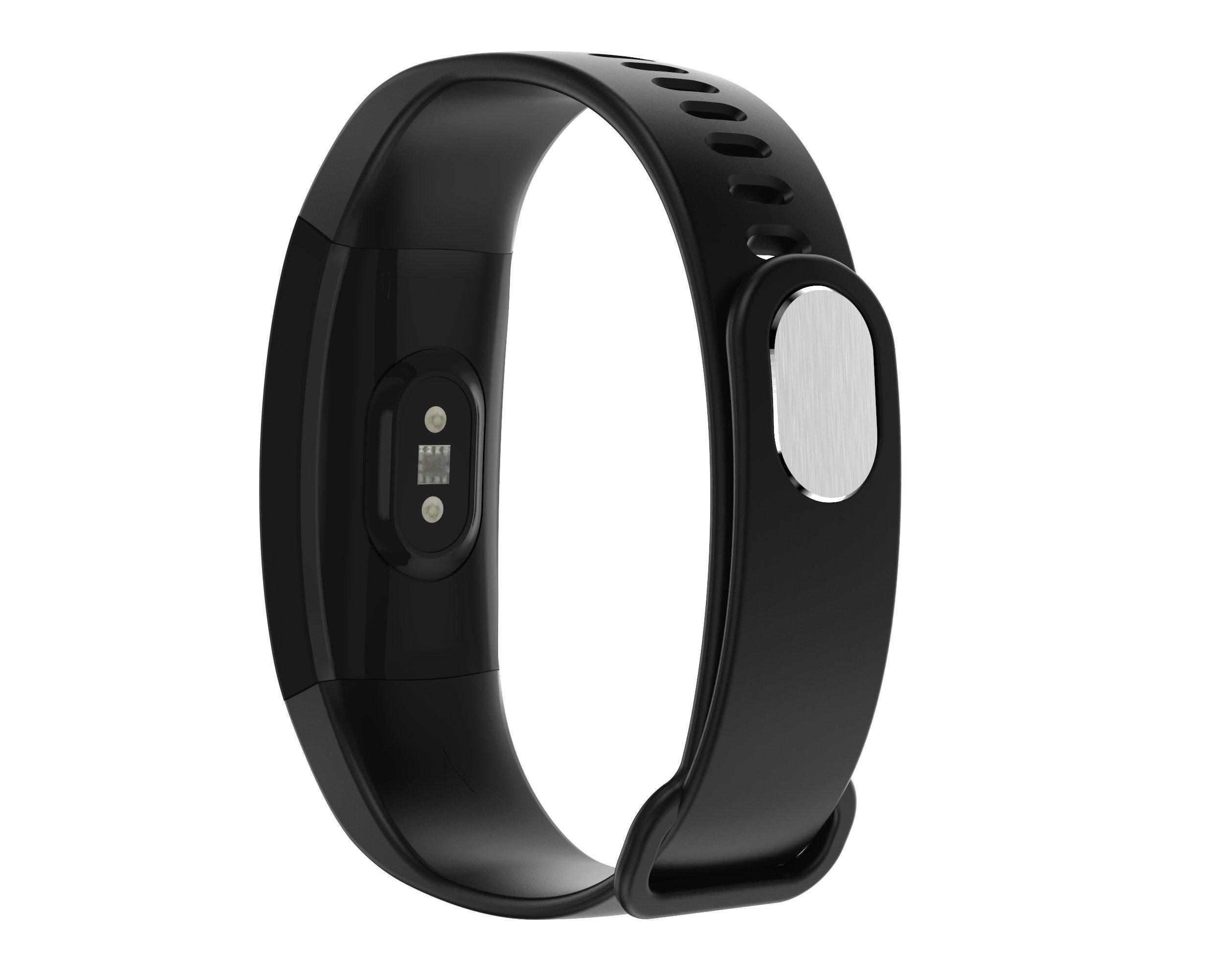719IkPTTkpL - Fitness Tracker Heart Rate Monitor Pedometer Smart Bracelet Bluetooth 4.0 Smart Fitness Band and Activity Tracker Smartwatch