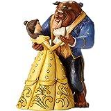 """Disney Traditions, Figura de Bella y Bestia bailando de """"La Bella y la Bestia"""", para coleccionar, Enesco"""