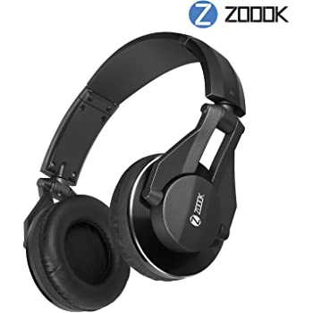 Zoook ZM-Jazz-DJ1 Extra Bass DJ Headphones with Mic