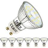 EACLL Lampadine LED GU10 6000K Bianco Freddo 5W Sorgente Luminosa 495 Lumen Equivalenti 50W Lampada Alogena. AC 230V No Flick