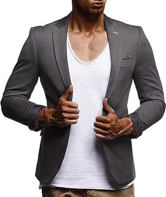 Maxmoda Blazer pour homme Coupe slim Style moderne Veste
