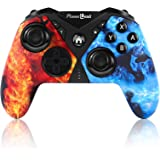 Controllers for Nintendo Switch, PowerLead Wireless Pro Game Controller gamepad Joystick for Switch, with Six-axis Dual Vibra