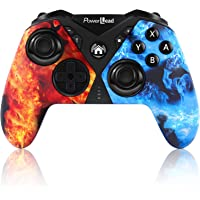 Controllers for Nintendo Switch, PowerLead Wireless Pro Game Controller gamepad Joystick for Switch, with Six-axis Dual…