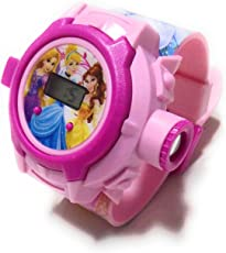 N S D ONLINE SHOP Plastic Princess Projector Watch, 7-5 Year