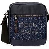 Pepe Jeans Hike Bandolera Azul 19x22x6 cms Poliéster
