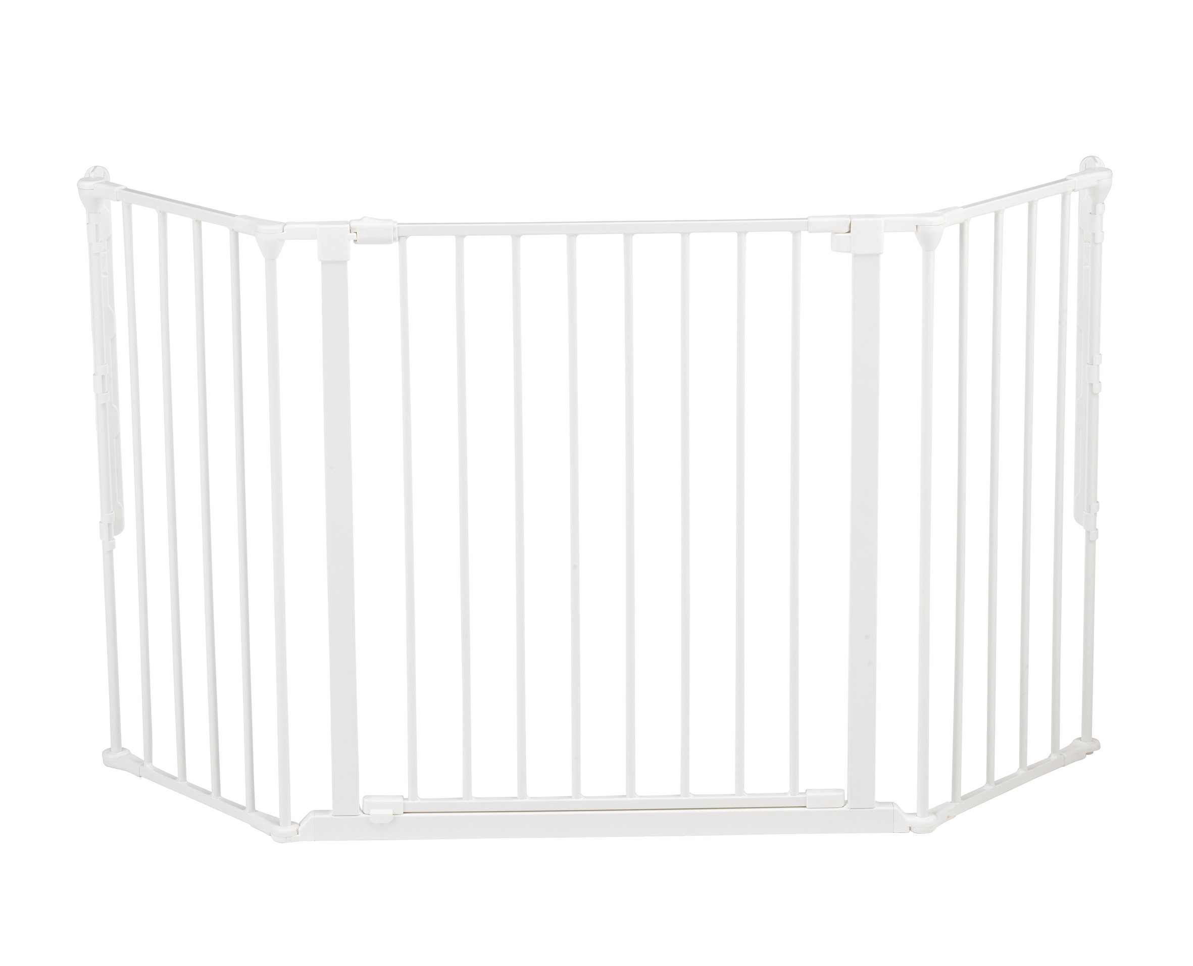 BabyDan Configure (Medium 90-146cm, White)  Only configure system fulfilling newest European safety standard Multi purpose room divider and gate for wider openings Flexible and easy to fit 1