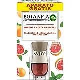 Botanica By Air Wick Elektrische luchtverfrisser, geurnoot voor thuis met grapefruit en Marokko, apparaat en reserveonderdeel