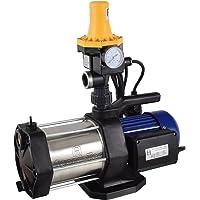Agora-Tec® AT-Hauswasserwerk-5-1300-3DW, 5 stufige Kreiselpumpe mit max: 5,6 bar und max: 5400l/h und Druckschalter mit…