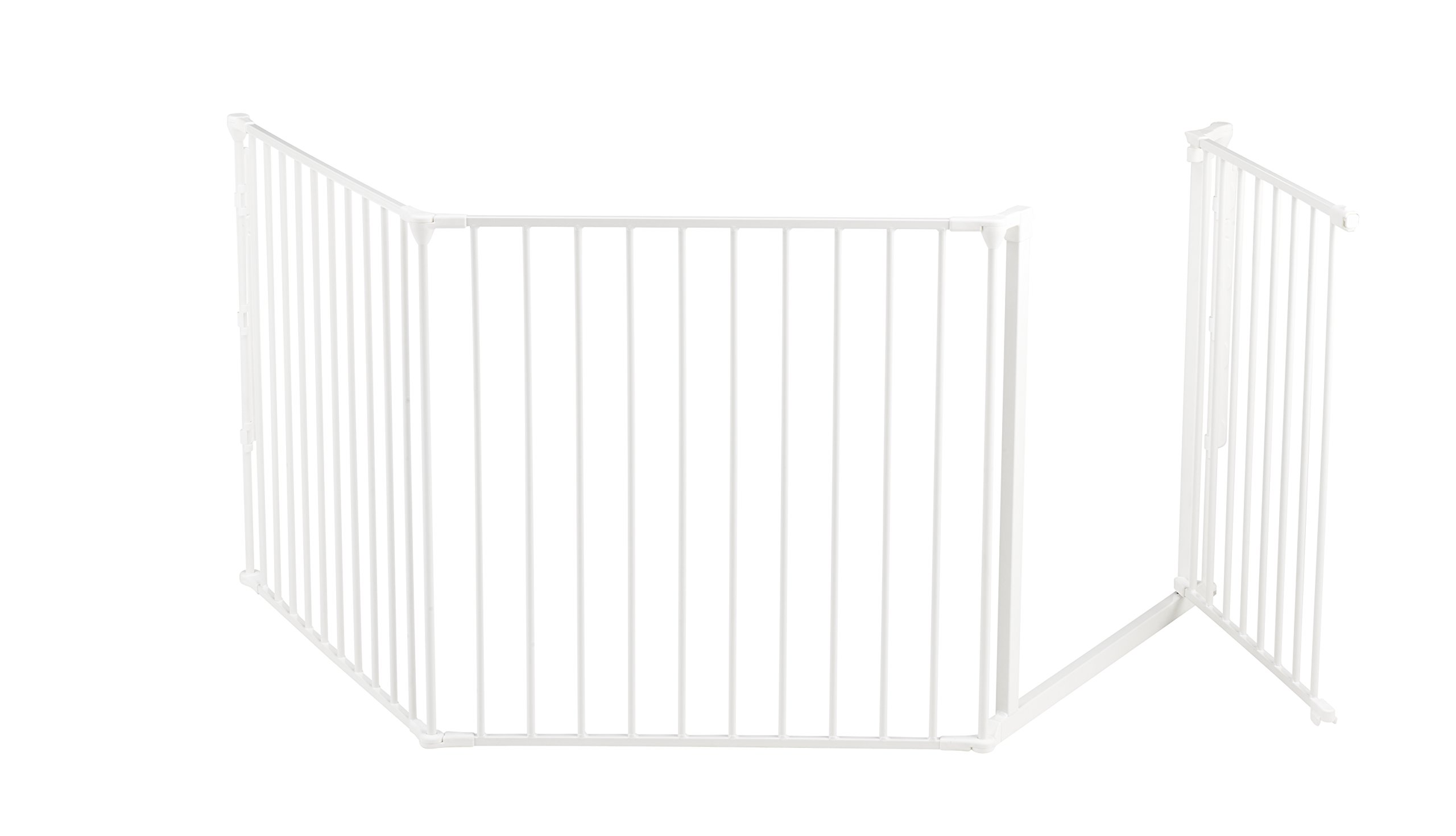 BabyDan Configure (Large 90-223cm, White)  Only configure system fulfilling newest European safety standard Multi purpose room divider and gate for wider openings Flexible and easy to fit 6
