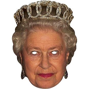 MASK-ARADE, Regina Elisabetta - Maschera in cartone