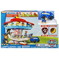 Nickelodeon Paw Patrol Lookout Multicolour Playset with 6 Pup Figures