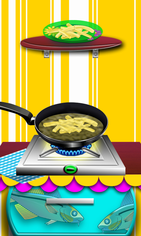 Chips de friture de poissons maker jeux de cuisine pour - Jeux de cuisine gratuit pour les filles ...