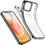 ESR Cover Compatibile con iPhone 6.1 Pollice 12 e 12 PRO, Serie Project Zero Liquid Soft, Nero