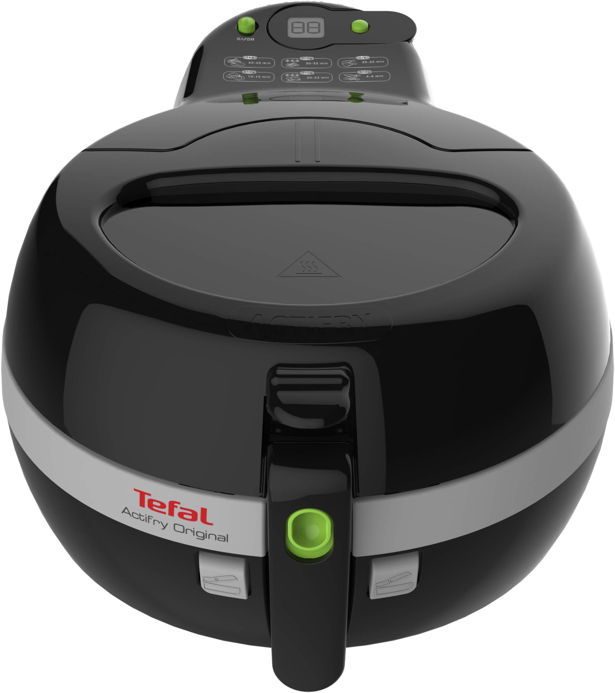 Tefal FZ 7108 Actifry Heißluftfritteuse mit Antihaftbeschichtung, schwarz
