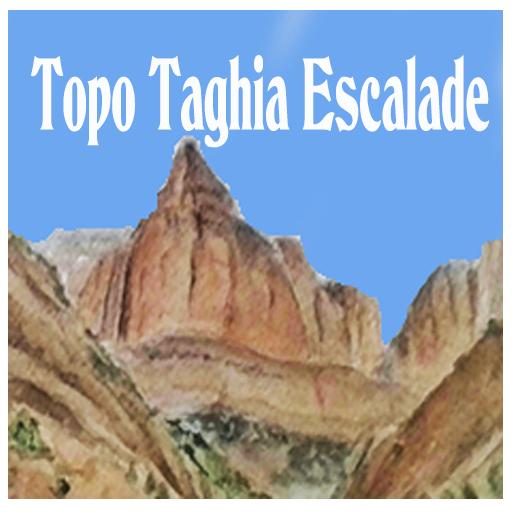 Climbing Topo Taghia