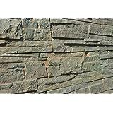 Lot de 5 moules en plastique ABS pour béton, plâtre, mur en pierre, carrelage #W01