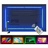 Lampee Led TV Hintergrundbeleuchtung, 2M USB Led Beleuchtung Hintergrundbeleuchtung Fernseher für 32-60 Zoll HDTV, TV-Bildsch
