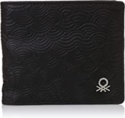 United Colors of Benetton Black Men's Wallet (18P6WLLT6005I)