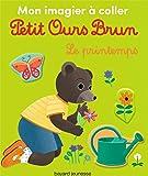 Mon imagier à coller Petit Ours Brun - Le printemps