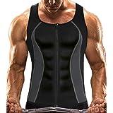 MISS MOLY Sauna Vest Mannen Neopreen Shirt 3X Zweet Tank Top Taille Trainer Workout Pak Afslanken Buik voor Gym Sport Bodybui
