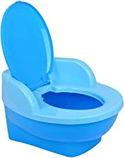 Online Choice Baby Toilet Training Potty Seat with Upper Closing Lid and Removable Bowl (Aqua Blue)