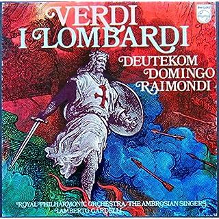 Verdi: I Lombardi (Gesamtaufnahme, italienisch) [Vinyl Schallplatte] [3 LP Box-Set]