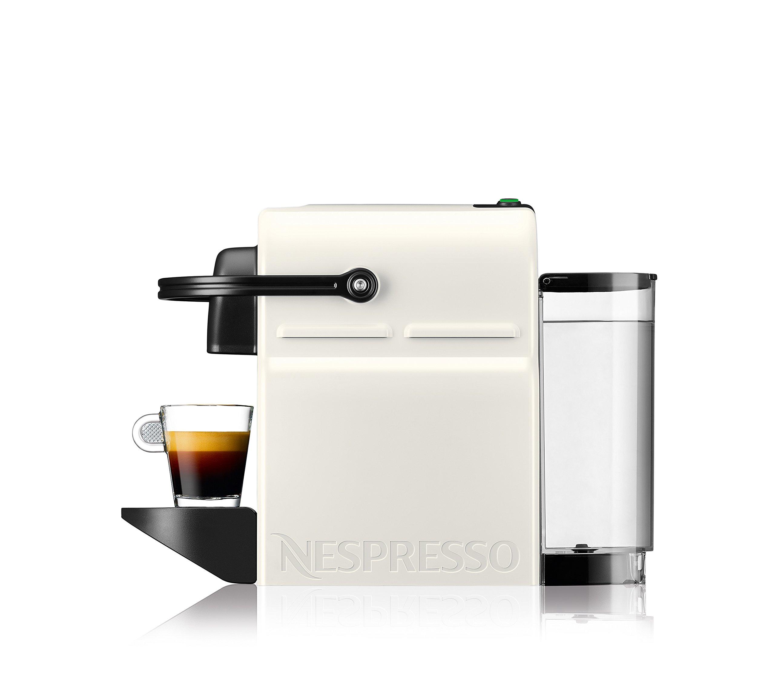 Nespresso Inissia Macchina per caffé espresso, a capsule, 1260 W, 0.7 L, Beige (Vanilla Cream) 2 spesavip